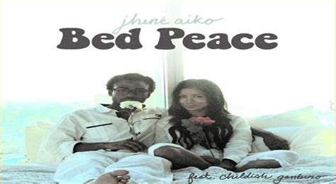 jhene aiko bed peace nothing really came everything was like by jhene aiko