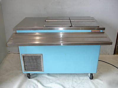 used ice cream dipping cabinet used shelley ice cream dipping cabinet mdl kcf2 50 48 quot