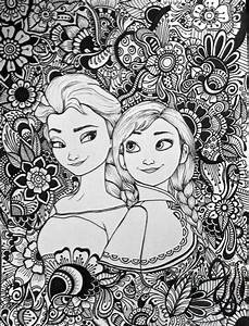 Elsa And Anna Design By Byjamierose On Etsy Back To School