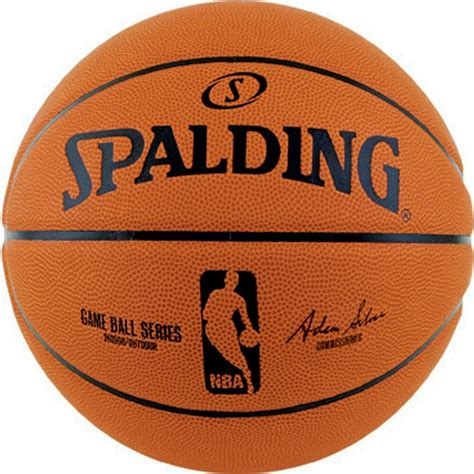 spalding official nba game ball series composite leather