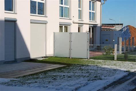 Sichtschutz Garten Doppelhaus by Reihenhaus Terrasse Sichtschutz