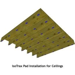 isotrax soundproofing system ceiling package soundproof