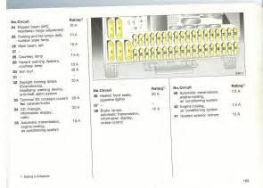 astra fuse box diagram wiring diagrams online