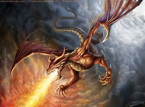flying dragon tattoos | Pin Flying Fire Breathing Dragon ...