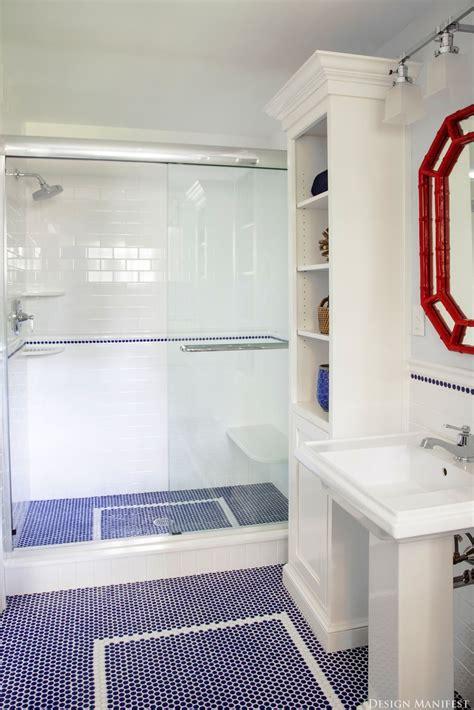 pictures  octagon bathroom tile