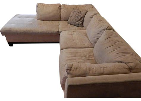 raymour flanigan l shape sectional couch sectional