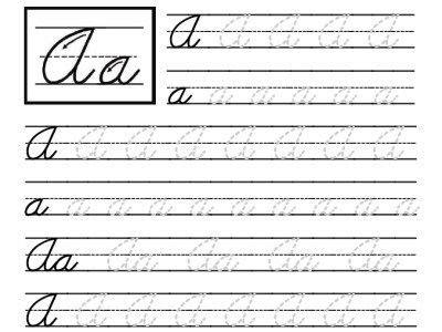 second grade cursive writing homeschooling cursive