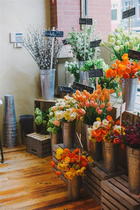 Up The Shop by Collaboration Flower Pop Up Shop For Anthropologie With A