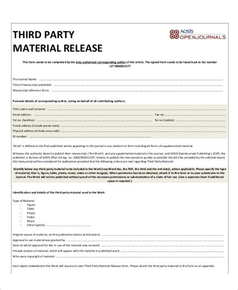 19281 sle general release form material release form template www rule of us