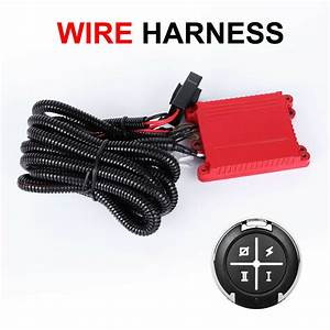 Autofeel Wire Harness Kit Switch Relay On  Off For Led Work