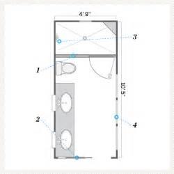 bathroom floor plans free narrow bathroom floor plans gallery