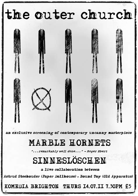 brightons outer church presents marble hornets