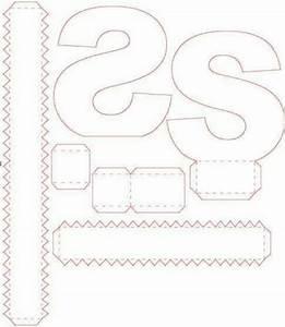 Buchstaben Basteln Vorlagen : s letras 3d pinterest einpacken boxen ~ Lizthompson.info Haus und Dekorationen