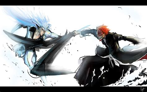 Anime Fighting Wallpaper - ichigo fighting a hollow wallpaper