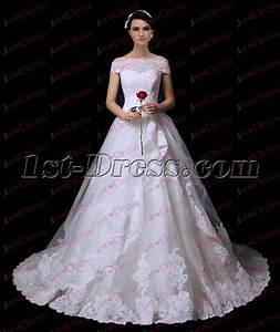 pretty off shoulder princess lace wedding dress 20171st With off the shoulder wedding dresses 2017