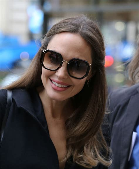 ANGELINA JOLIE Out and About in Paris 10/20/2019 - HawtCelebs