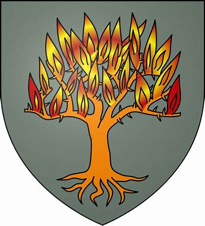 Marbrand Svg Burning Fire Ice Tree Orange
