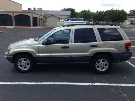 tan jeep grand cherokee find used 2001 jeep grand cherokee laredo sport utility 4
