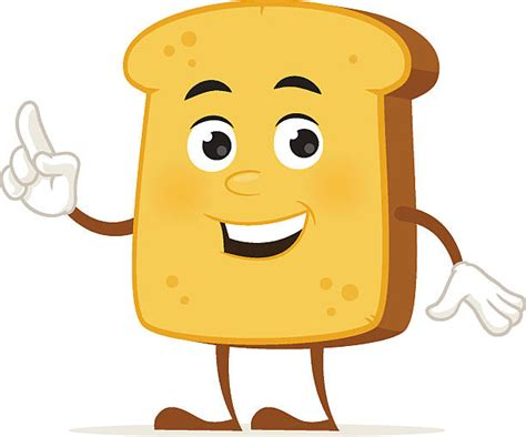 Top 60 Bread Slice Clip Art, Vector Graphics And