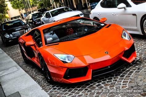 Lamborghini Aventador Spotted In Beverly Hills, California