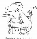 Gas Pump Clipart Illustration Royalty Toonaday Rf sketch template