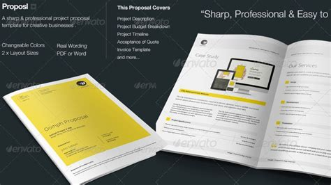 Proposal Photoshop Template Free Download