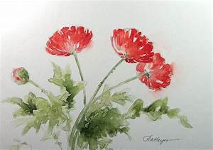 Simple Watercolor Painting Flowers | www.imgkid.com - The ...
