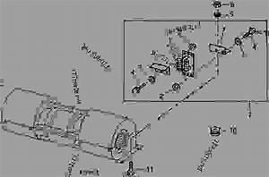 Blower Motor Resistor - Tractor John Deere 4450