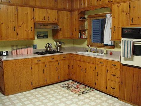 white kitchen paint colors  knotty pine cabinet