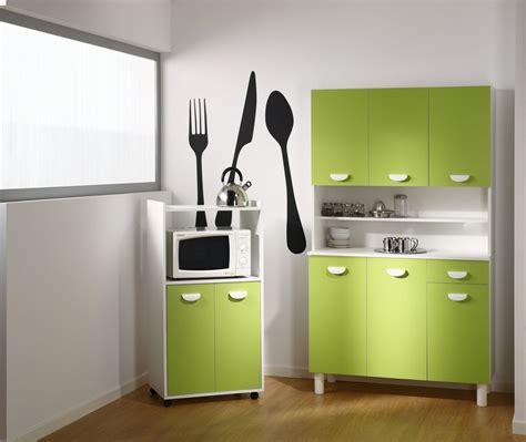 meuble cuisine vert pomme buffet de cuisine vert pomme
