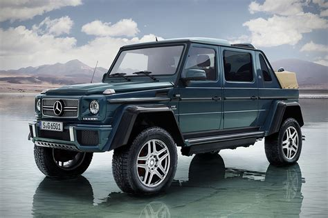 Our car experts choose every product we feature. 2017 Mercedes-Maybach G 650 Landaulet   HiConsumption