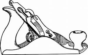 OUTLINE, HAND, DRAWING, SURFACE, TOOLS, PLANE, HARDWARE