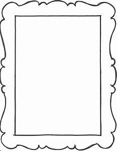 4 best images of free printable 4x6 picture frame borders With 4x6 picture template