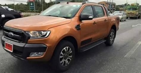2015 ford ranger wildtrak spied camo free in thailand autoevolution