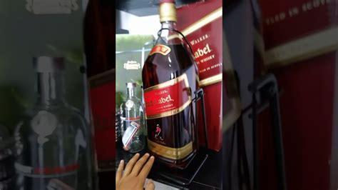 label liter walker bottle johnnie