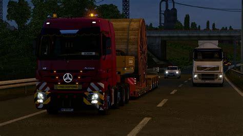 mercedes actros mp reworked  schumi  truck
