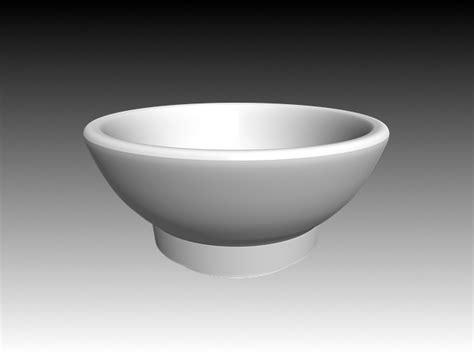 standing bowl vessel sink  model dsmaxdsautocad files   modeling   cadnav