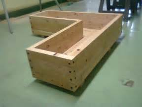 bac a fleurs en bois bac a fleurs en bois id 233 es de d 233 coration et de mobilier pour la conception de la maison
