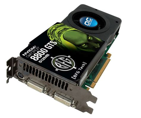 BFG Launches 512MB 8800 GTS | TechPowerUp Forums