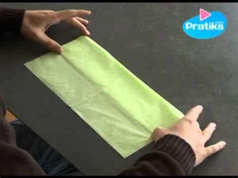 pliage de serviette porte couvert comment faire un porte couvert avec une serviette en papier