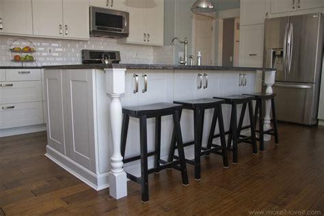 kitchen island countertop overhang countertop overhang