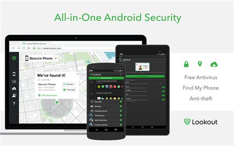 lookout android this security app for ios android makes find my iphone