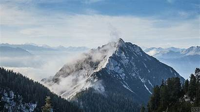 Gifs Giphy Mountains Misty Austria Earth Via
