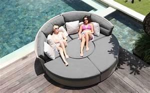 Sofa Runde Form : lounge m bel f r garten und terrasse runde formen trendig ~ Lateststills.com Haus und Dekorationen