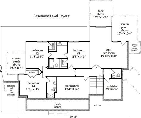 1 Bedroom, 1 Bath Cabin & Lodge House Plan   #ALP 0A11