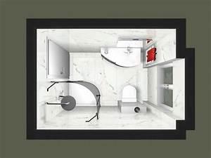 Plan 3d Salle De Bain : plan salle de bain 3d edil magasin carrelage et salle ~ Melissatoandfro.com Idées de Décoration