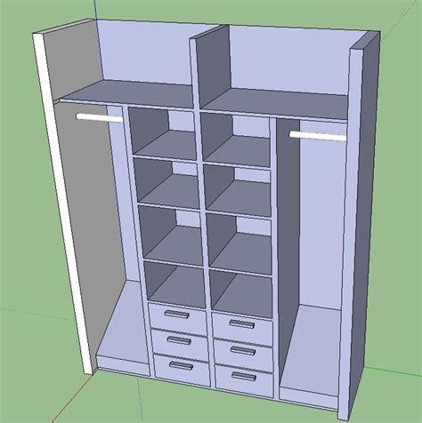 amenagement interieur placard chambre pour ranger les cartons il faut des placards