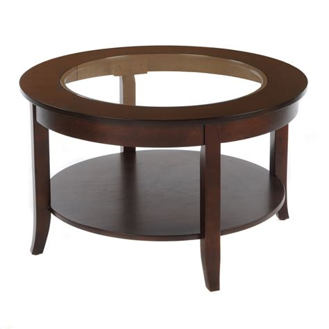 30 inch round glass table top bianco collection espresso 30 inch round glass top coffee