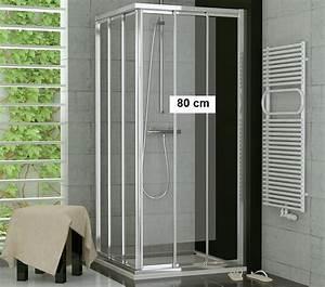 Schiebetür 80 Cm : duschabtrennung eckeinstieg 70 x 80 schiebet r glas oder kunststoff ~ Markanthonyermac.com Haus und Dekorationen