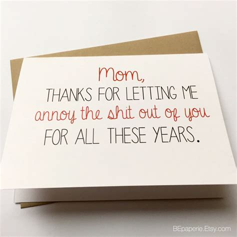 We did not find results for: Funny Mom Card Mother's Day Card Mom Birthday Card